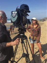 Beach Interview